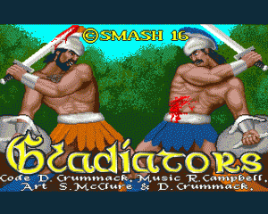 Gladiators per Amiga
