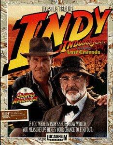 Indiana Jones And The Last Crusade per Amiga