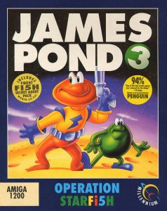 James Pond 3: Operation Starfish per Amiga