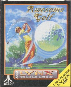 Awesome Golf per Atari Lynx