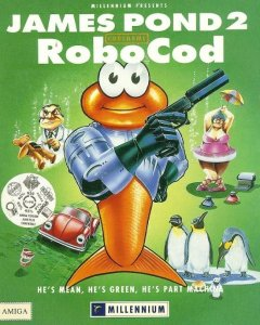 James Pond 2: Codename Robocod per Amiga