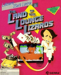 Leisure Suit Larry In the Land of the Lounge Lizards per Amiga