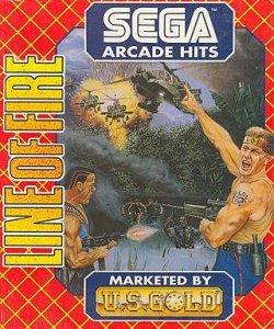 Line of Fire per Amiga