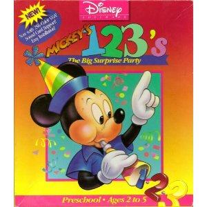 Mickey's 123's per Amiga