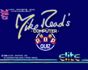Mike Read's Computer Pop Quiz per Amiga