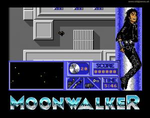 Moonwalker per Amiga