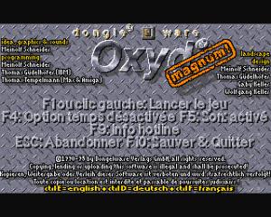 Oxyd Magnum! per Amiga