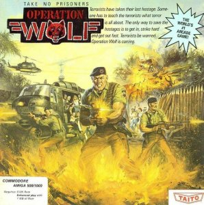 Operation Wolf per Amiga