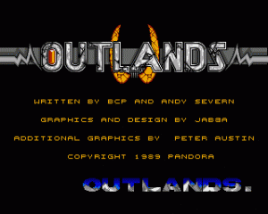 Outlands per Amiga