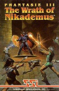 Phantasie III - The Wrath of Nickademus per Amiga