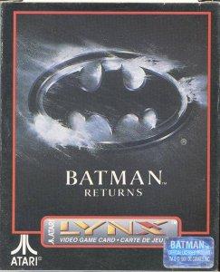 Batman Returns per Atari Lynx