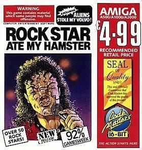 Rock Star Ate My Hamster per Amiga