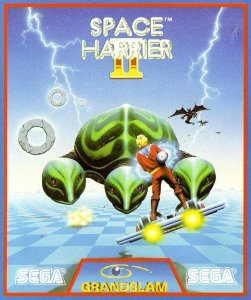 Space Harrier II per Amiga