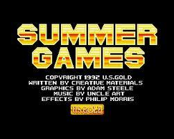 Summer Games per Amiga