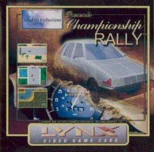 Championship Rally per Atari Lynx