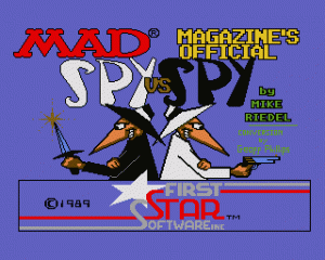 Spy vs. Spy per Amiga