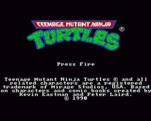 Teenage Mutant Ninja Turtles per Amiga