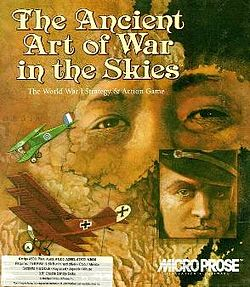 The Ancient Art Of War In The Skies per Amiga