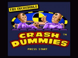 The Incredible Crash Dummies per Amiga