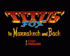 Titus The Fox per Amiga