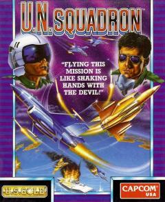 U.N. Squadron per Amiga