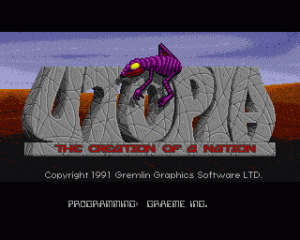 Utopia: The New Worlds per Amiga
