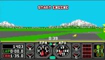 Hard Drivin' - Gameplay
