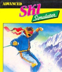Advanced Ski Simulator per Amstrad CPC