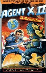 Agent X II: The Mad Prof's Back! per Amstrad CPC