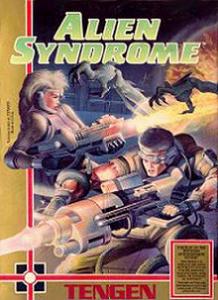 Alien Syndrome per Amstrad CPC