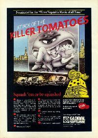 Attack of the Killer Tomatoes per Amstrad CPC