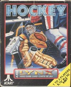 Hockey per Atari Lynx