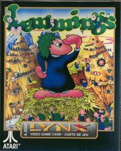 Lemmings per Atari Lynx