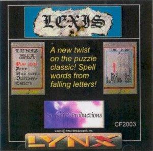 Lexis per Atari Lynx