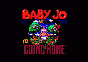 "Baby Jo in: ""Going Home"" per Amstrad CPC"