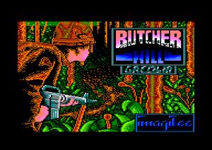 Butcher Hill per Amstrad CPC