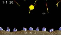 Super Asteroids & Missile Command - Gameplay