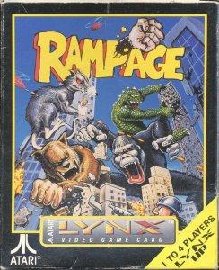 Rampage per Atari Lynx