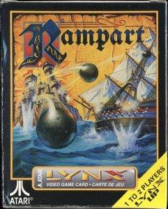 Rampart per Atari Lynx