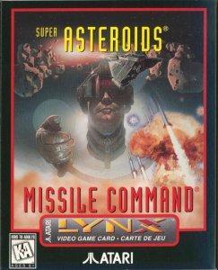 Super Asteroids & Missile Command per Atari Lynx