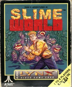 Todd's Adventures in Slime World per Atari Lynx