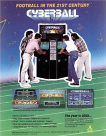 Cyberball per Amstrad CPC
