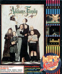 The Addams Family per Atari ST