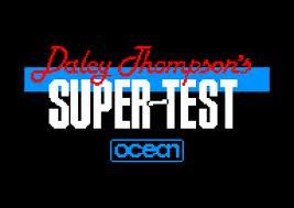 Daley Thompson's Super Test per Amstrad CPC