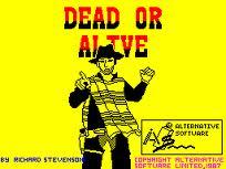 Dead Or Alive per Amstrad CPC
