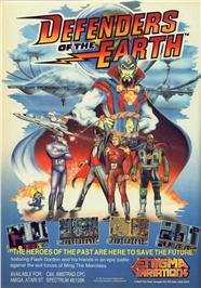 Defenders of the Earth per Amstrad CPC