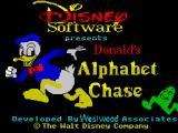 Donald's Alphabet Chase per Amstrad CPC