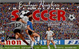 Emlyn Hughes International Soccer per Amstrad CPC