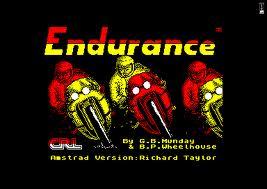 Endurance per Amstrad CPC