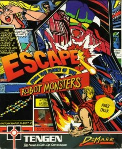 Escape from the Planet of the Robot Monsters per Amstrad CPC